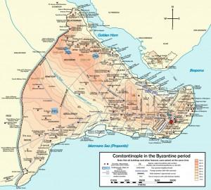 0 Byzantium map