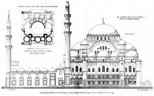 0 Suleymaniye side elev