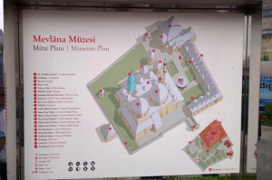 0552 Mevlana Museum plan