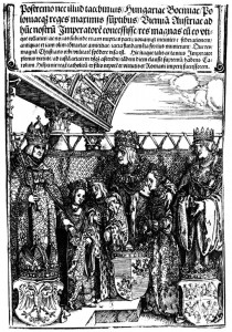 Habsburg bnetrothal 1515 Durer