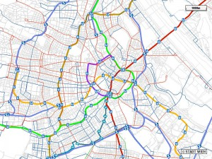 transit map detailed